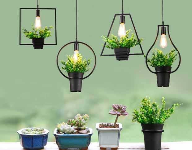 Подставка для цветов с подсветкой