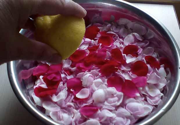 Варенье из чайной розы. Шаг 2