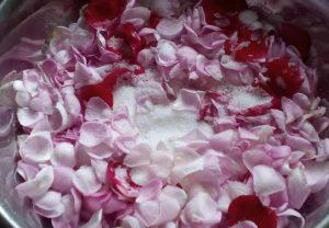Варенье из чайной розы. Шаг 3