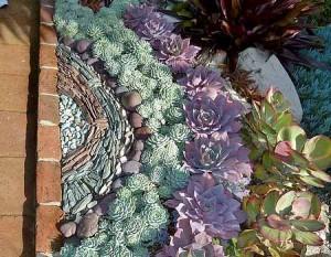 композиции из цветов в ландшафтном дизайне