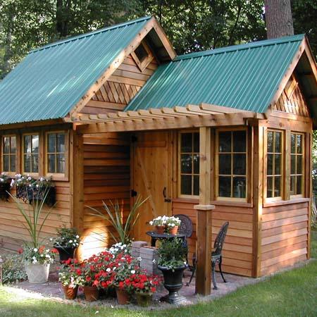 маленький домик для дачи