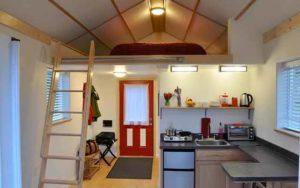 дачные домики пример планировки