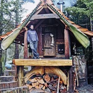 Необычные дачные домики