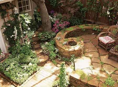Как создать зону отдыха в саду
