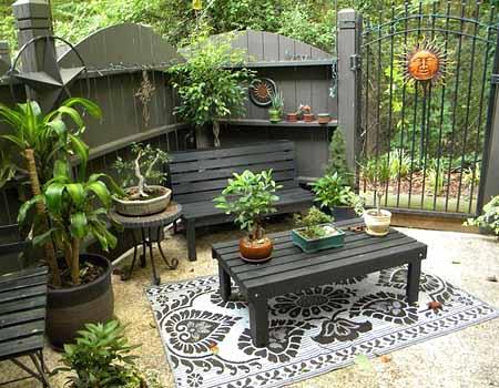 Стильный сад своими руками