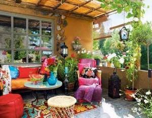как сделать красивый дизайн сада своими руками патио около дома
