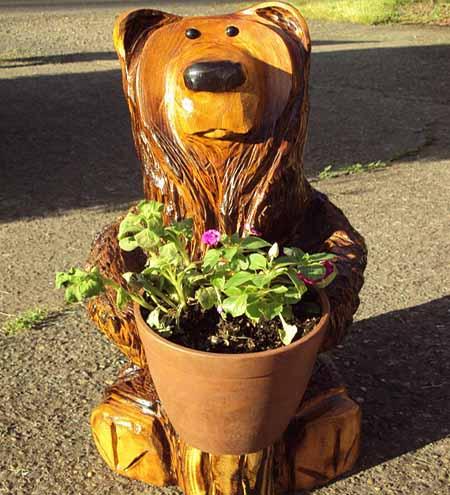 поделки для сада из пеньков и коряг фото