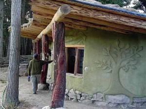 дачные дома с интересной отделкой фасада
