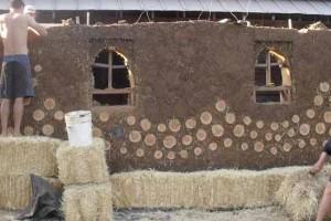 дачный дом из самана