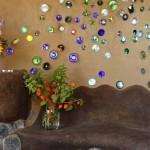 интерьер дачного дома интересные детали на стене