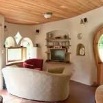 интерьер дачного дома из глины интересные детали