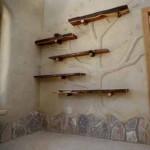 как украсить стенвы в дачном доме
