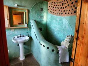 интерьер дачного дома из глины фото