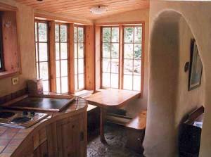 интерьер дачного дома кухня