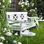 чудесный белый сад