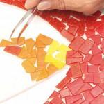 как сделать мозаику для забора своими руками