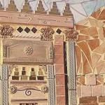 заборы для дачи фото пример мозаики