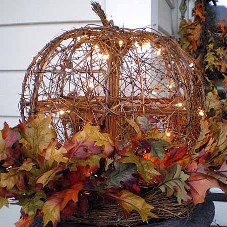 Осенняя композиция фото