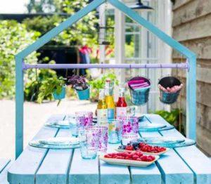 садовая мебель оригинальный стол
