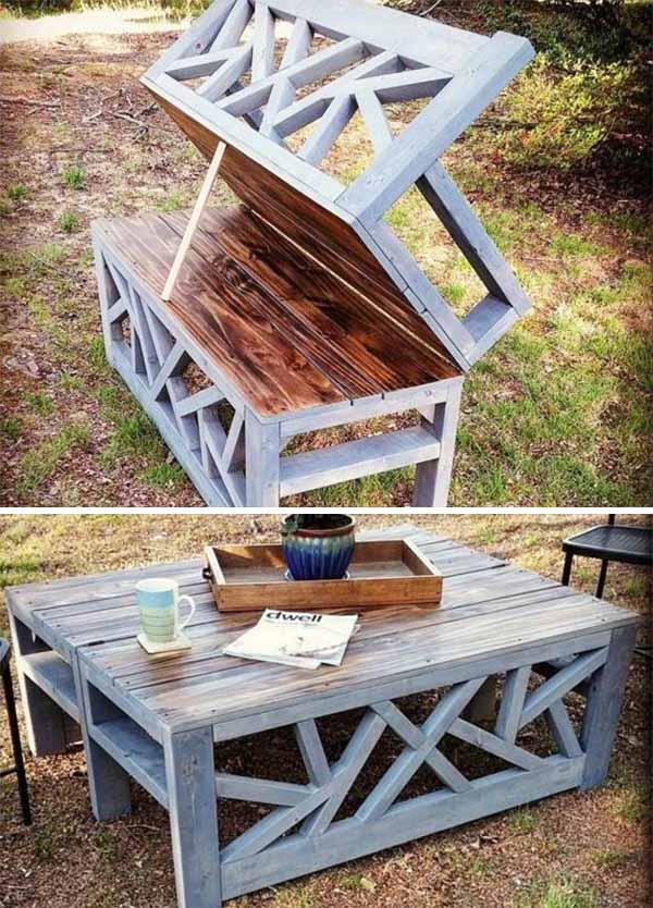 садовая мебель  скамейка трансформер
