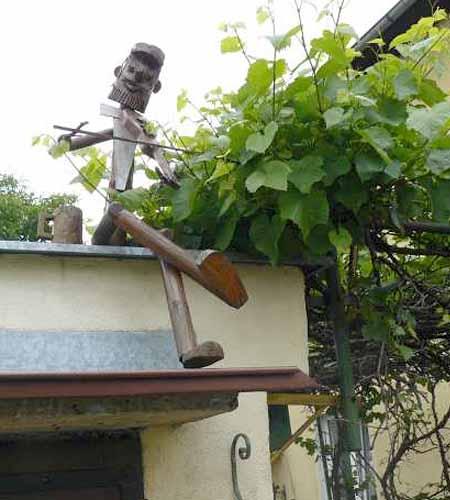 садовые фигурки из веток