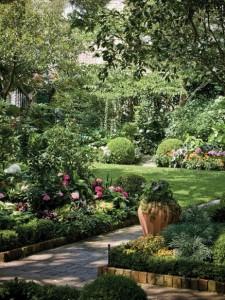 красивый дизайн сада своими руками фото
