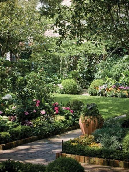 красивый дизайн сада своими руками