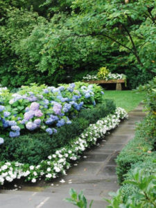 как в ландшафтном дизайне выделить любимое место в саду