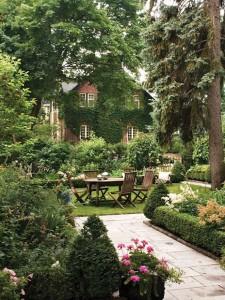 как сделать красивый дизайн сада своими руками