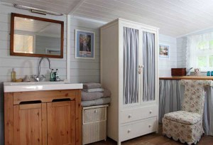 ванная в дачном домике