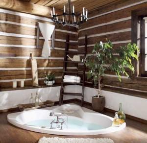 деревенский дом ванная