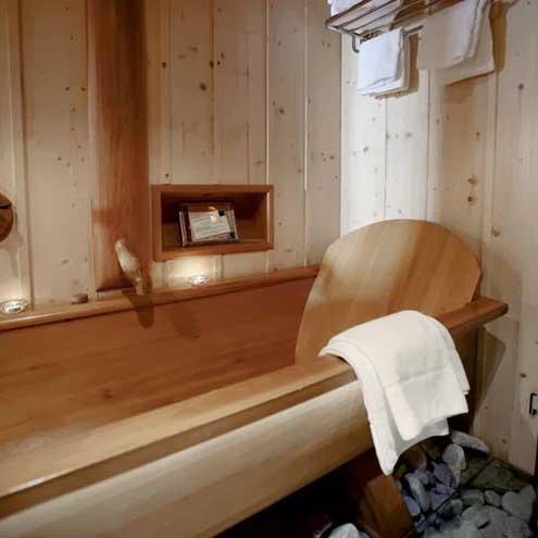 ванная в шале