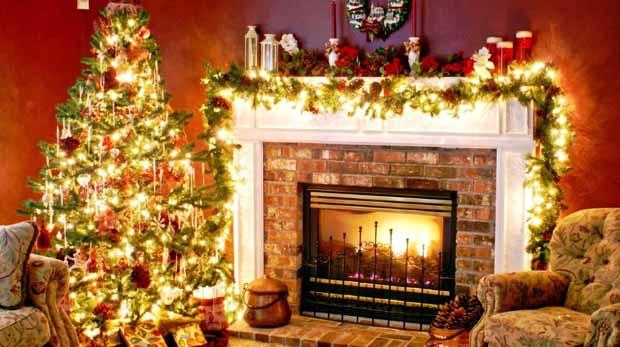 как украсить дачу на новый год