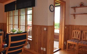 садовый домик гостиная