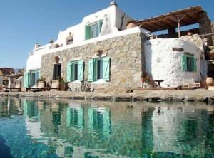 красивый загородный дом в Греции