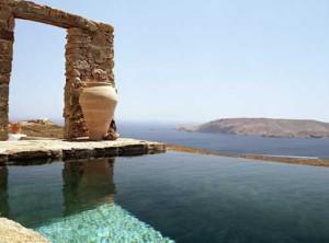 загородный дом в Греции на берегу моря
