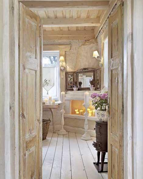 загородный дом ванная комната