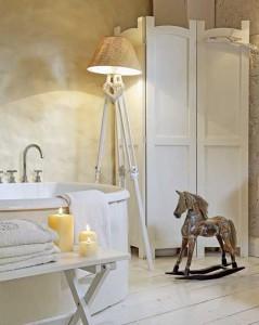 загородный дом ванная