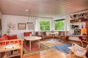 интерьер загородного дома в Швеции