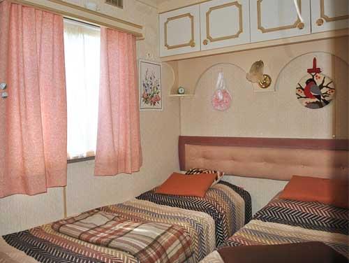необычный дачный дом детская спальня
