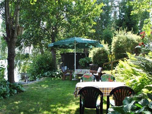 садовый участок дачного дома