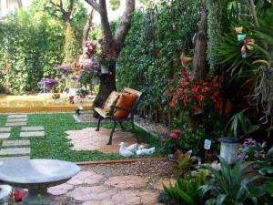 современные садовые дорожки