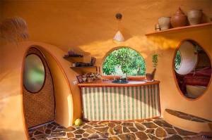 дизайн кухни в дачном доме