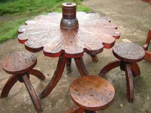 купить садовую мебель из дерева