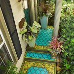 бетонный пол на веранде частного дома