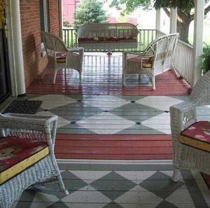 дизайн дачного дома красивый деревянный пол