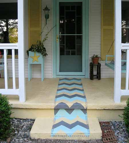 как покрасить пол на веранде дачного дома
