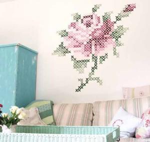 Красивые варианты декора стен в дачном ломе