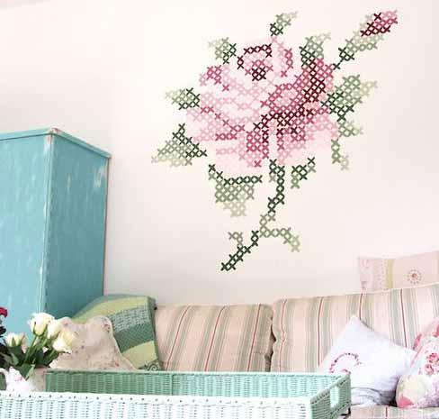 декора стен в дачном ломе