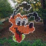 как необычно украсить забор